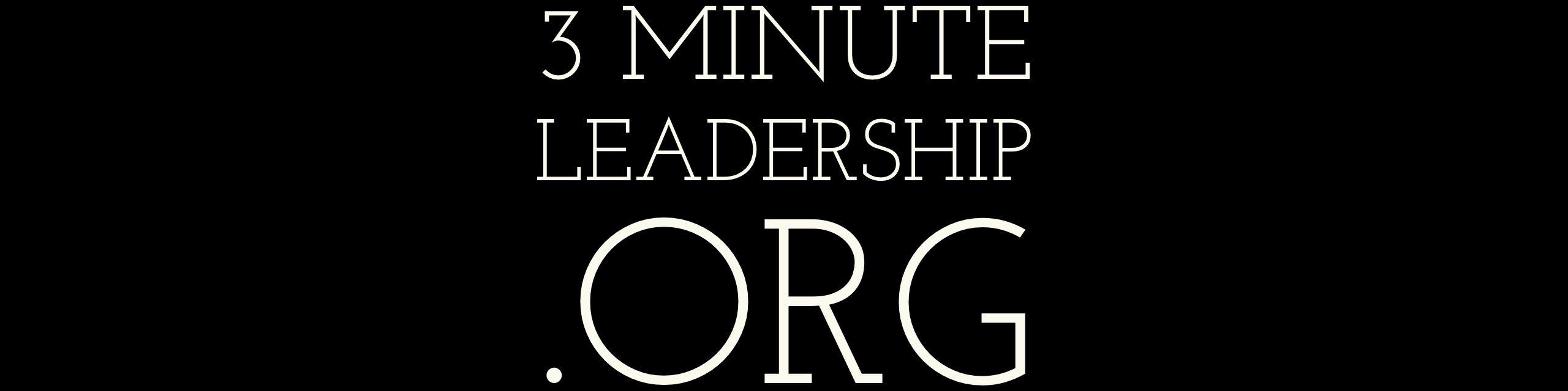 3minuteleadership.org